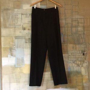 Black Wool Ann Taylor Trousers